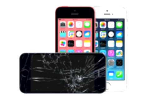 cracked iphone 5 png