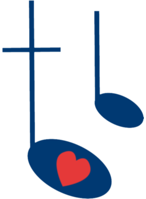 cross and music notes png