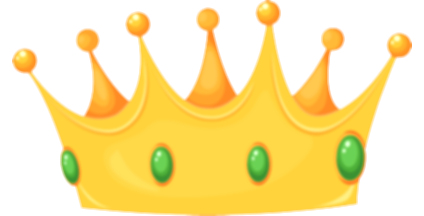 crown clip clear background