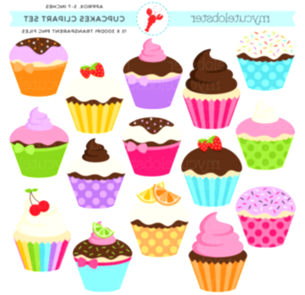 cupcakes clipart cupcake party