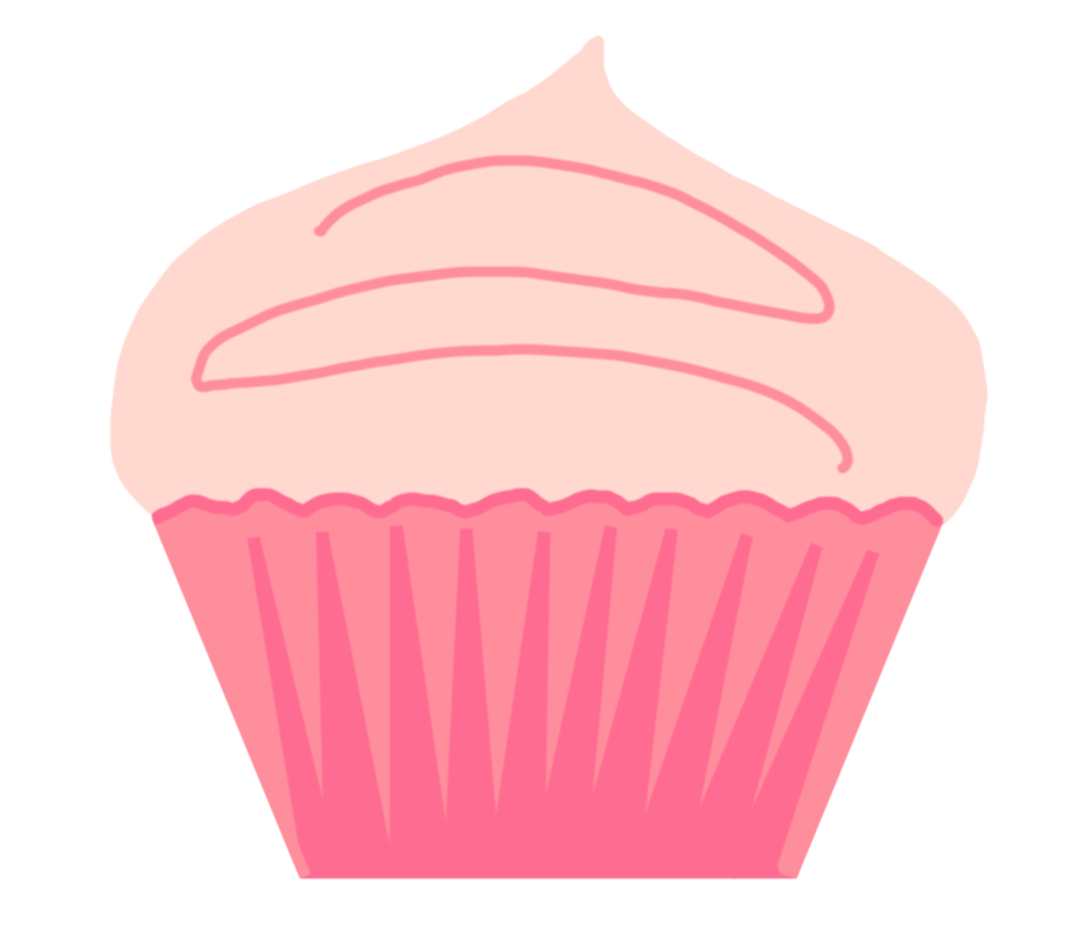 cupcakes clipart giant cupcake
