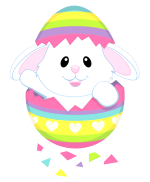 cute easter bunny png