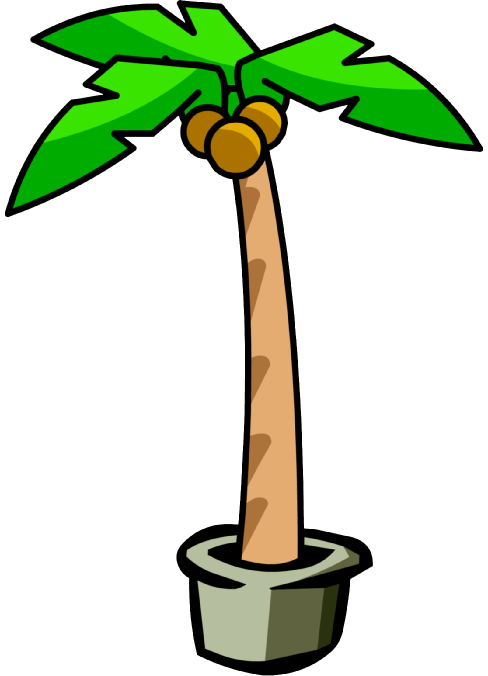 dead palm tree png