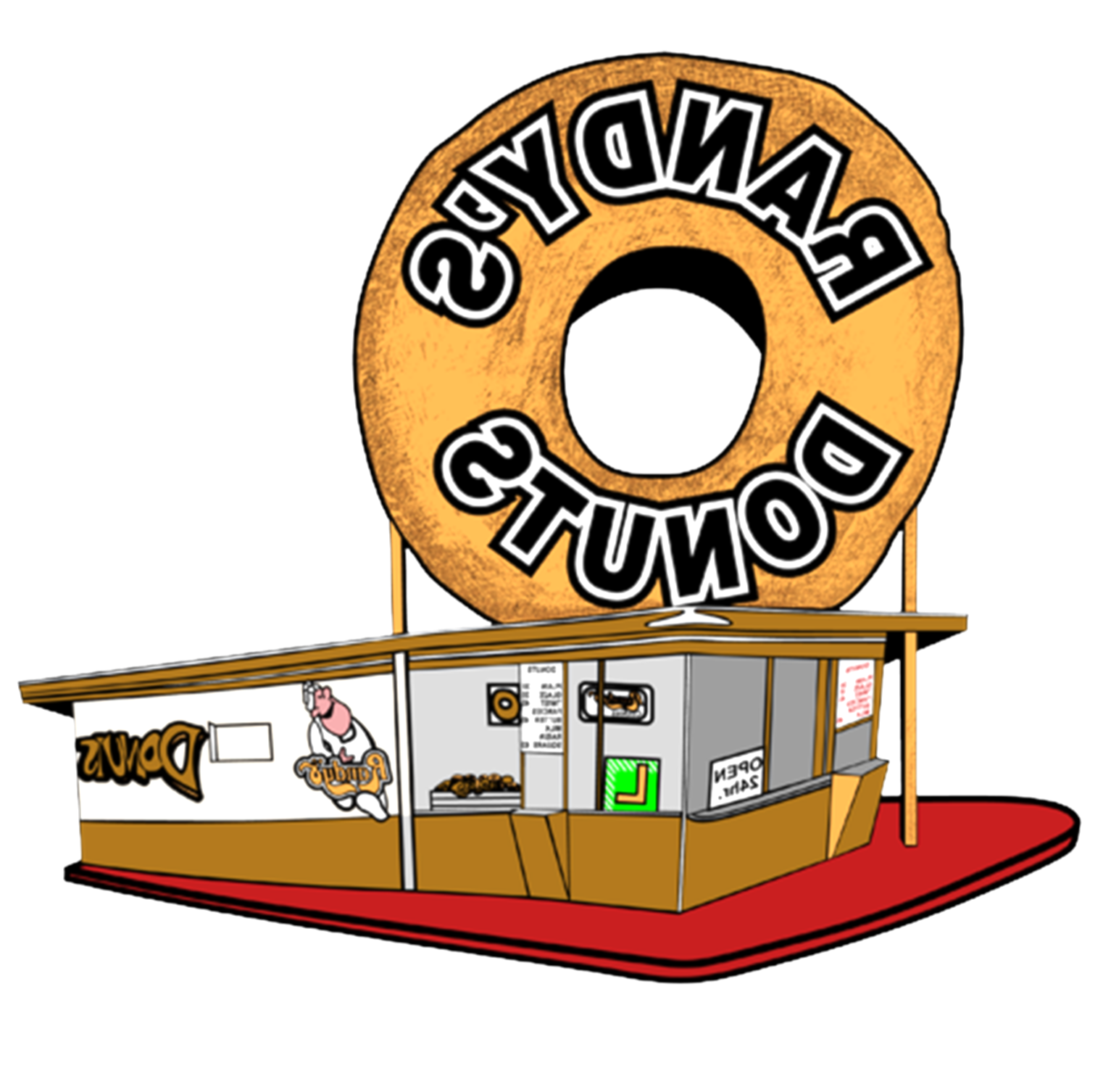 donuts clipart donut shop