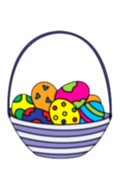 drawing egg easter