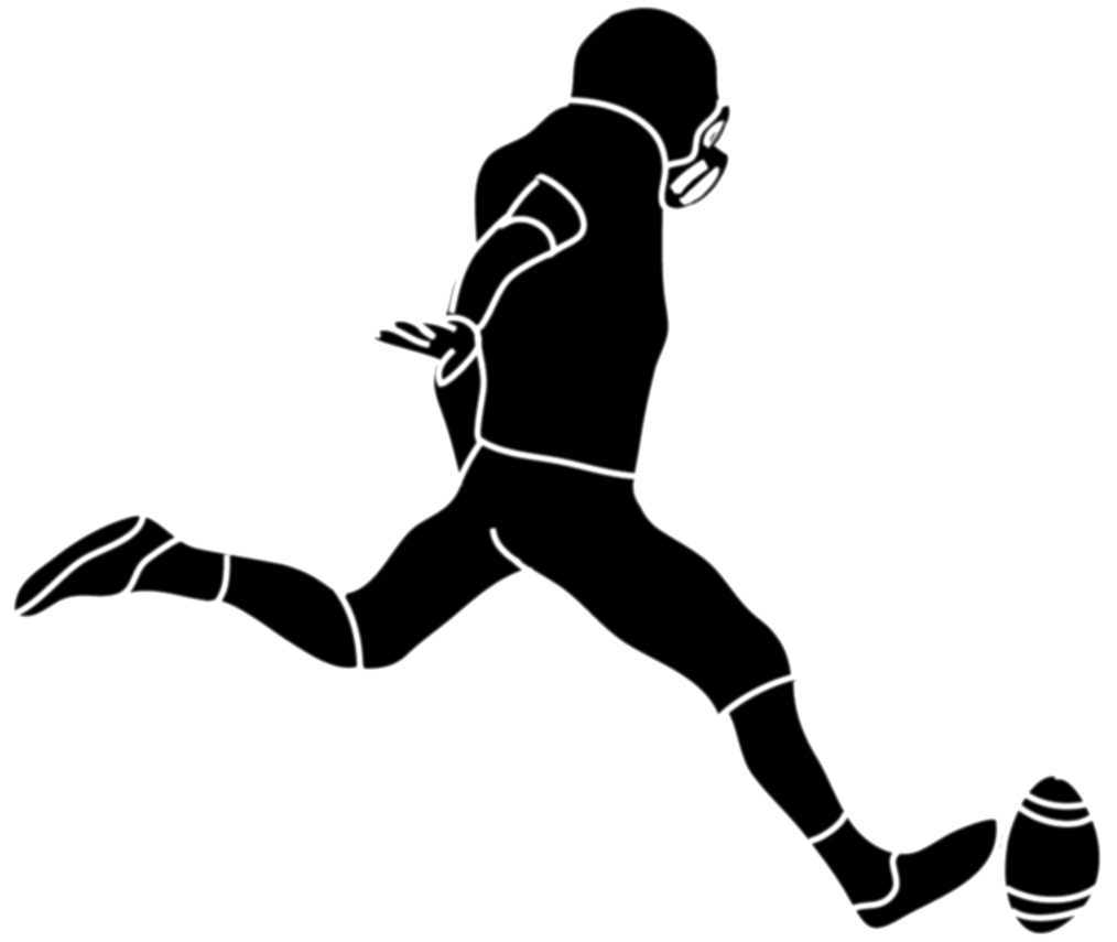 drawing sport silhouette