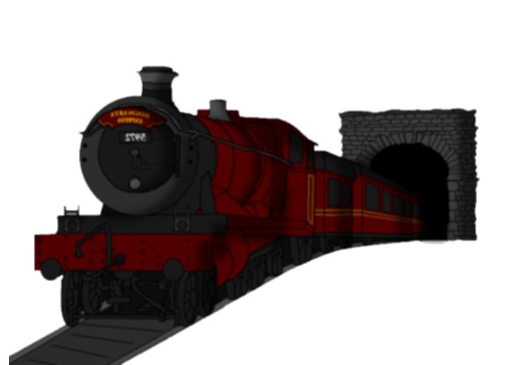 drawing train harry potter