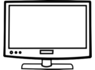 drawing tv outline