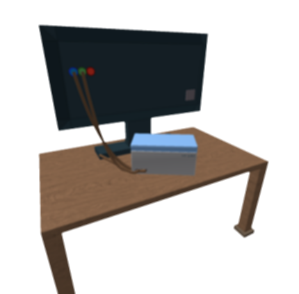 drawing tv table