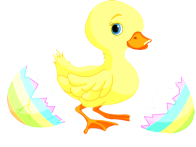 duck clip easter