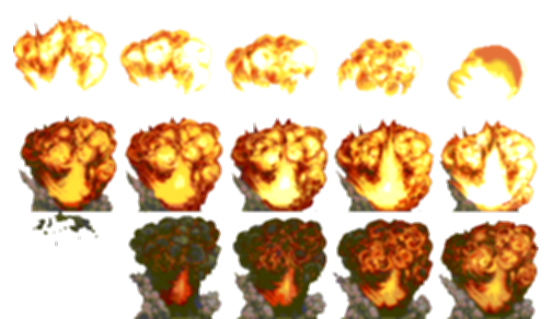 explosion png sprite