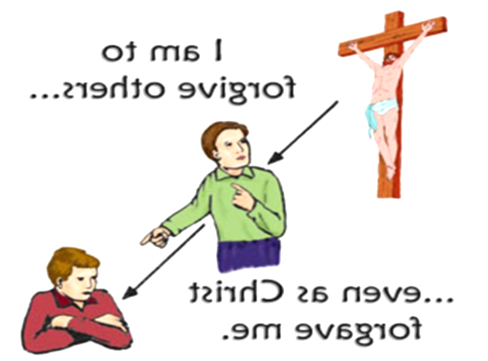 fight clipart forgiving other