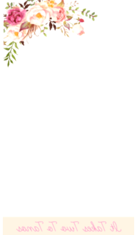 flower crown snapchat png