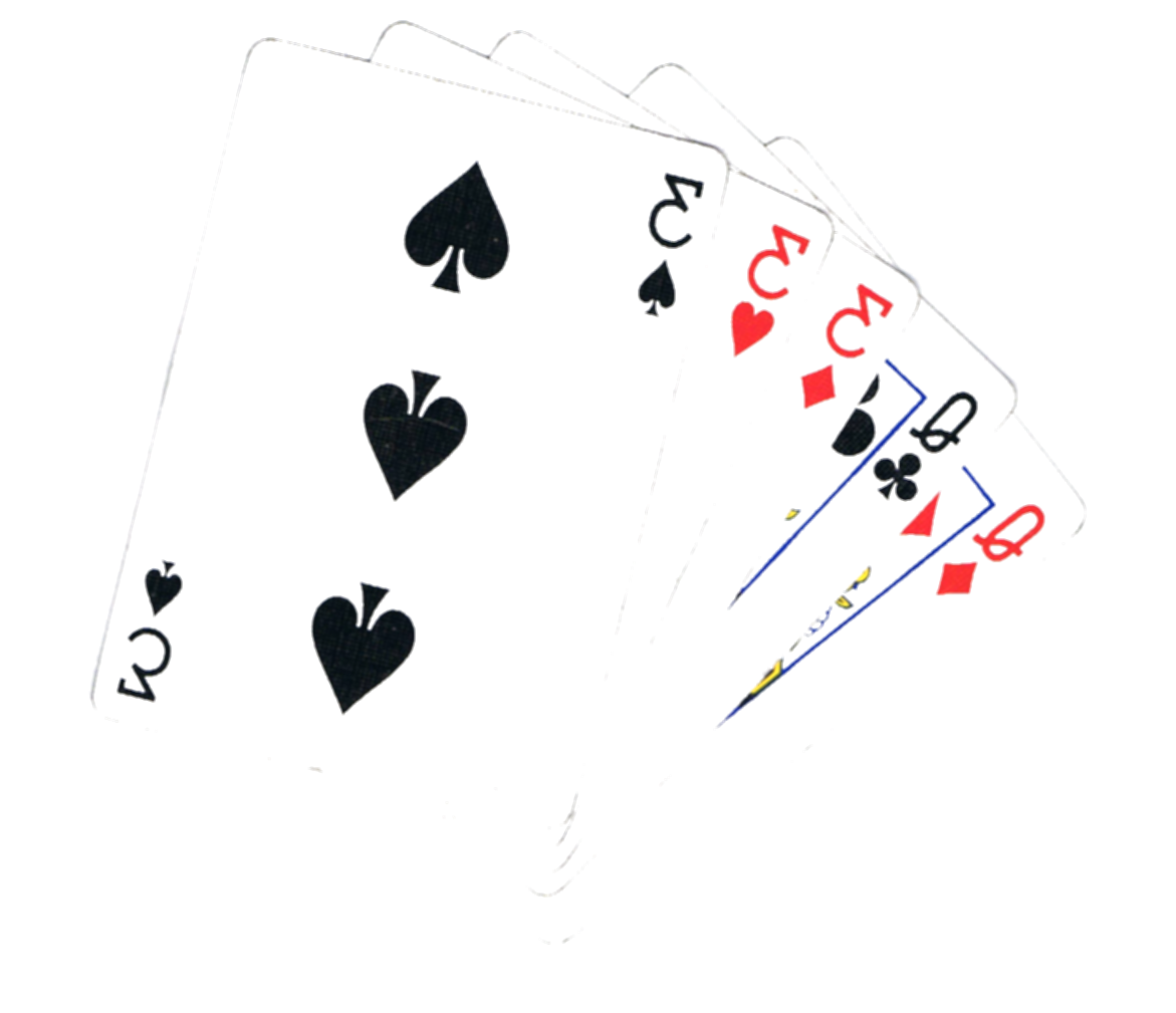 full house cards png