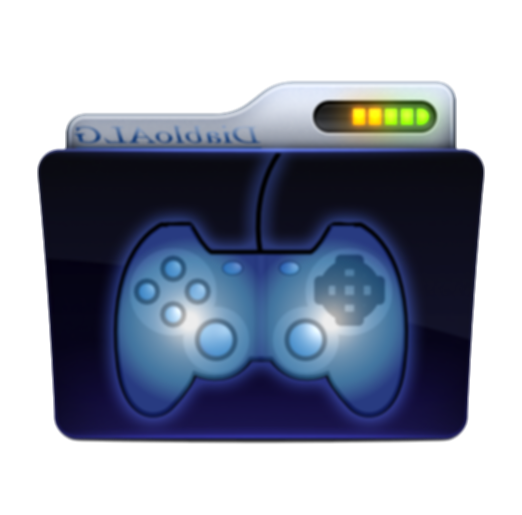 games folder icon png