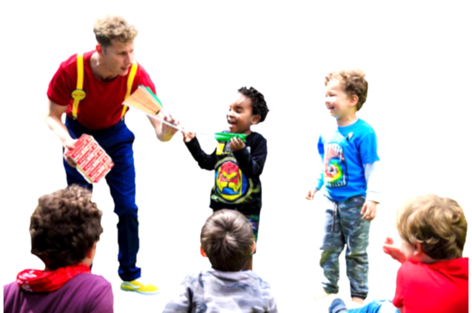 group of kids png