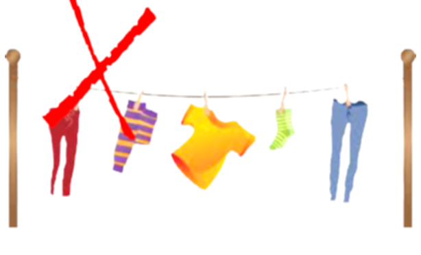 hanging clothes png