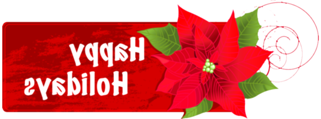 happy holidays clipart png