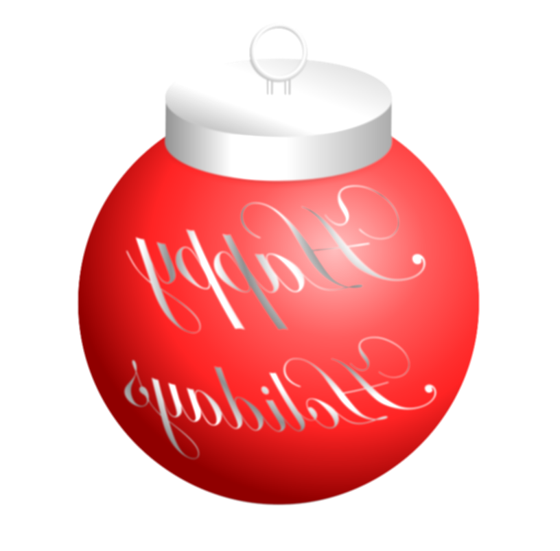 happy holidays png transparent