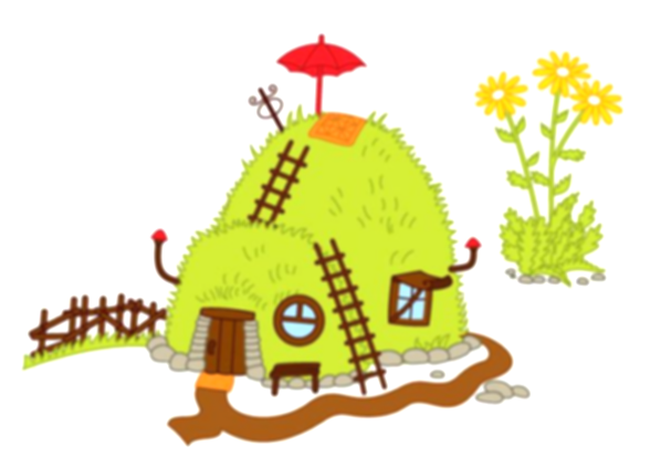 hill clipart ant house