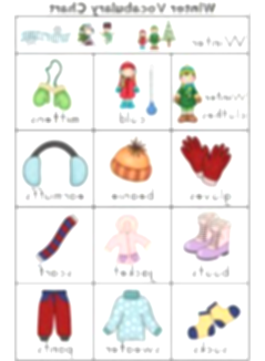 january clipart cold weather clothes