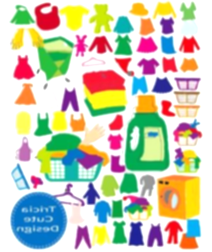 laundry clipart used clothes
