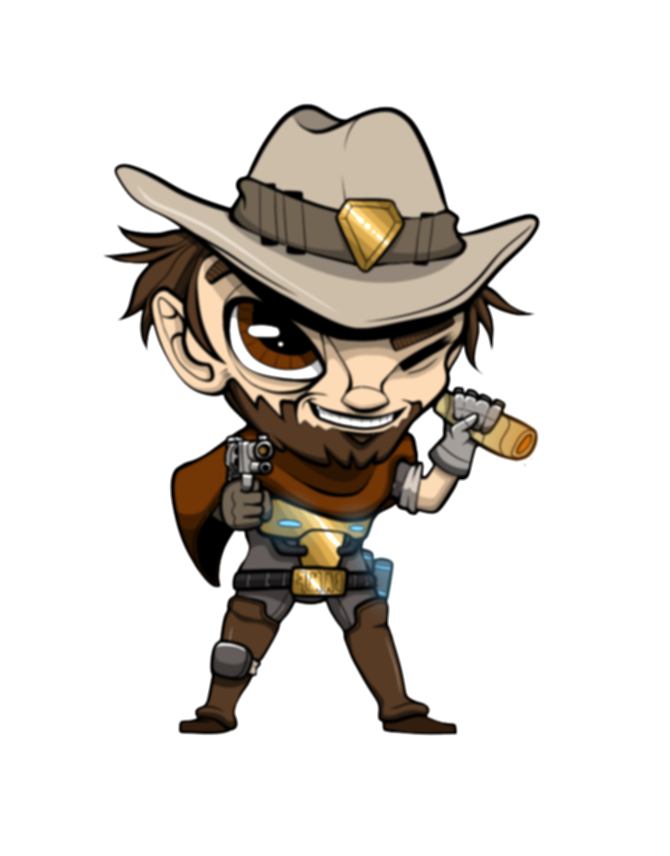 mccree overwatch png