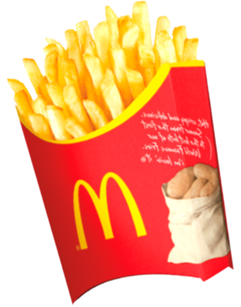 mcdonalds french fries png