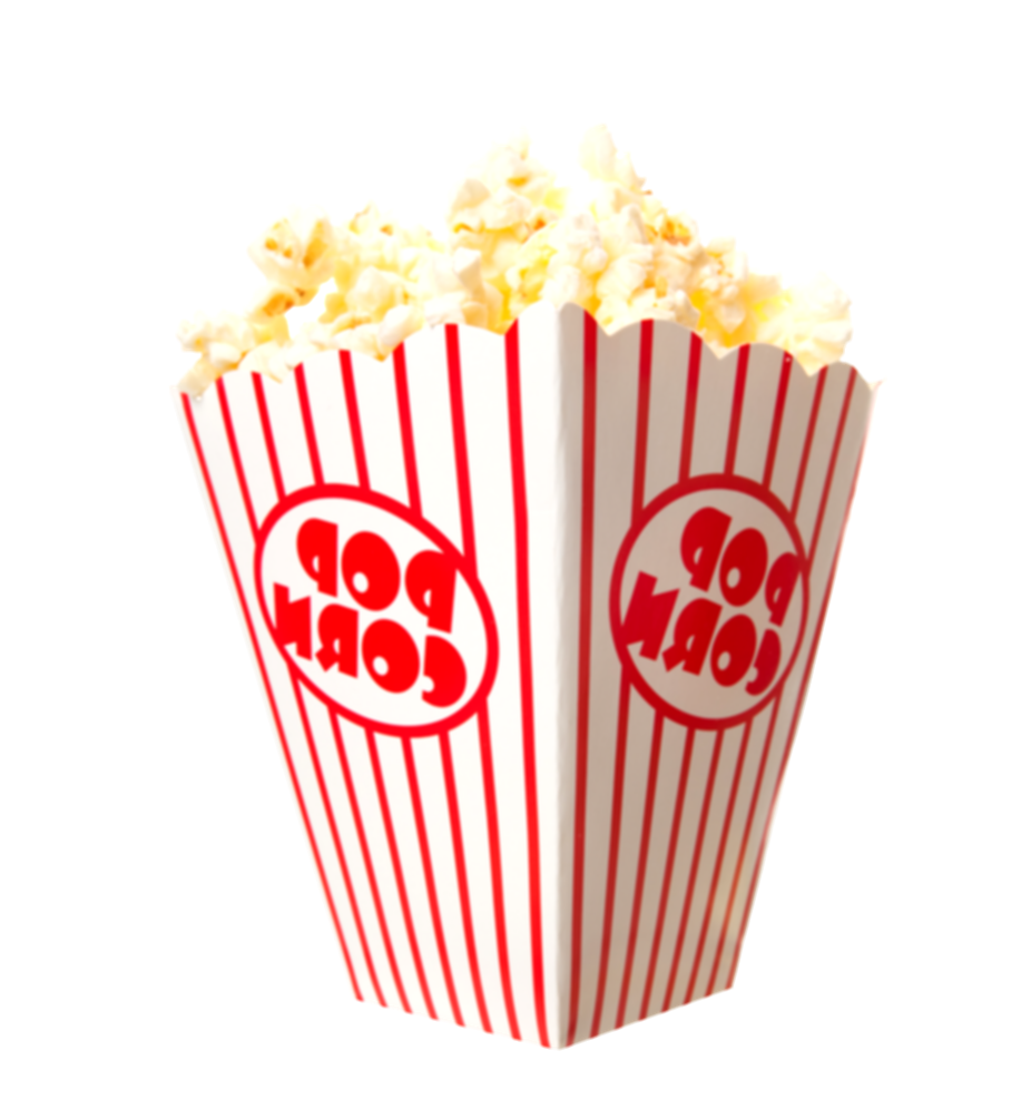 movie theater popcorn png