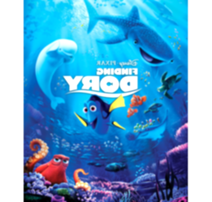 movies clipart finding dory