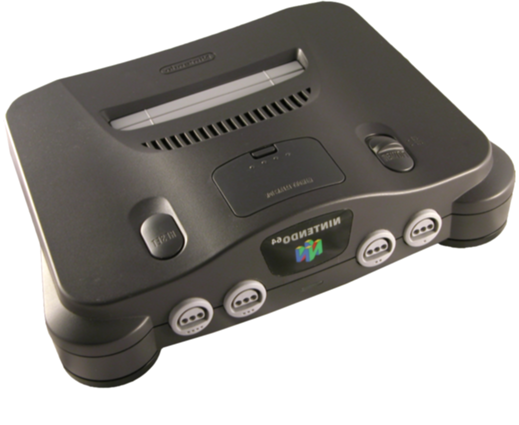 nintendo 64 console png