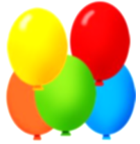other clipart colourful balloon