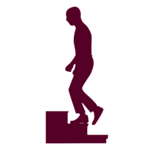 people climbing stairs png