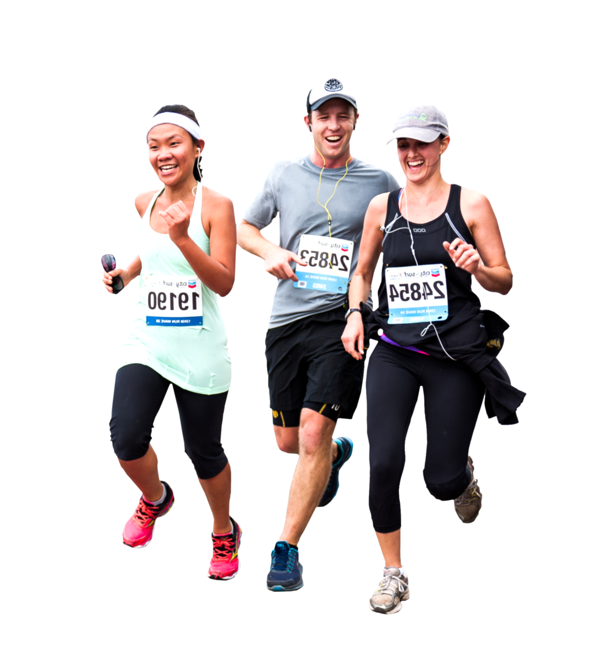 running people png