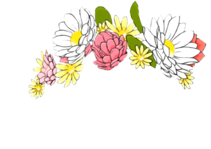 snapchat flower png