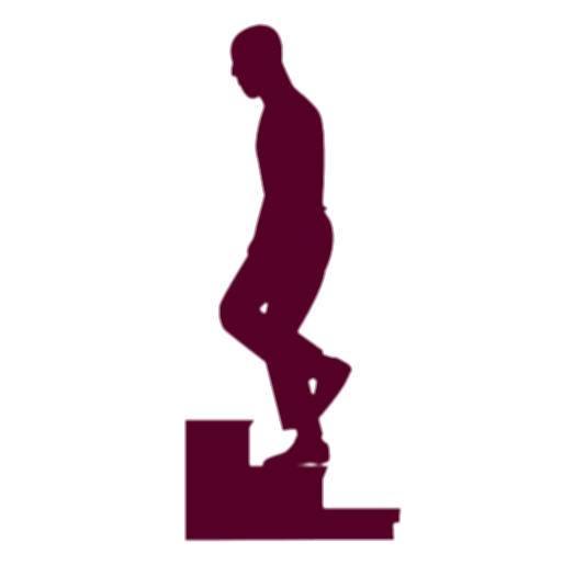 stairs people silhouette png