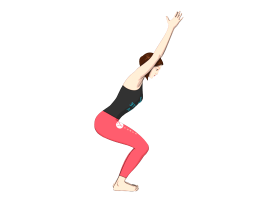standing yoga poses png