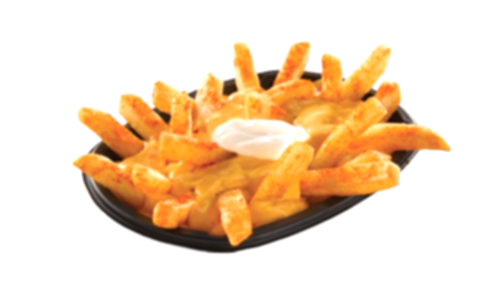taco bell cheese fries png