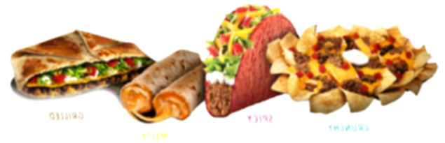 taco bell food png