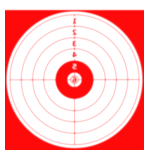 target clipart shooting