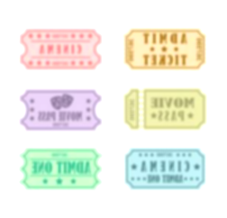 theater clipart prom ticket
