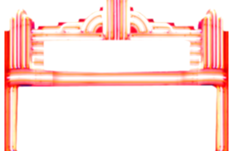 theater vector marquee