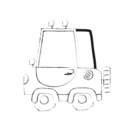 transport drawing vehicle