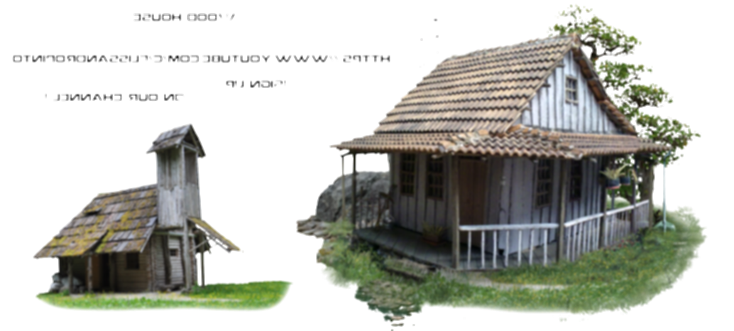 wood house png